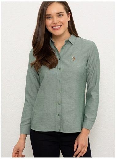 U.S. Polo Assn. U.S. Polo Assn.  Koyu Yeşil Gömlek Yeşil